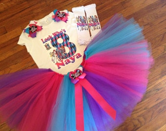 Monster Girls TuTu Set