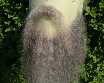 Facial hair- very long beard and moustache set.LI40