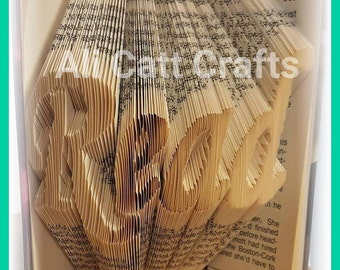 131 Read - Book Folding Pattern