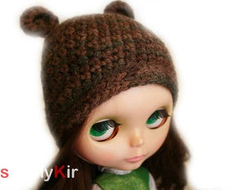 SimplyKir  Blythe Bear Hat (PreMade)