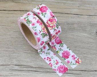 Pink Floral Washi Tape- Masking Tape