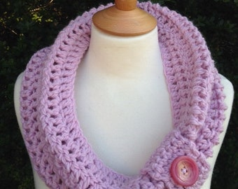 Vintage button cowl