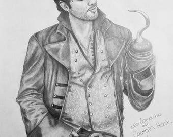 Leo Camacho as Hook Print