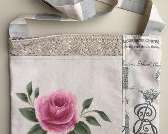 Rose Pocket Cross Body Bag #2