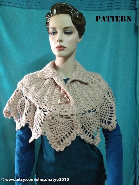 Asombroso Poncho Patrón De Crochet Libre Inspiración - Ideas de ...