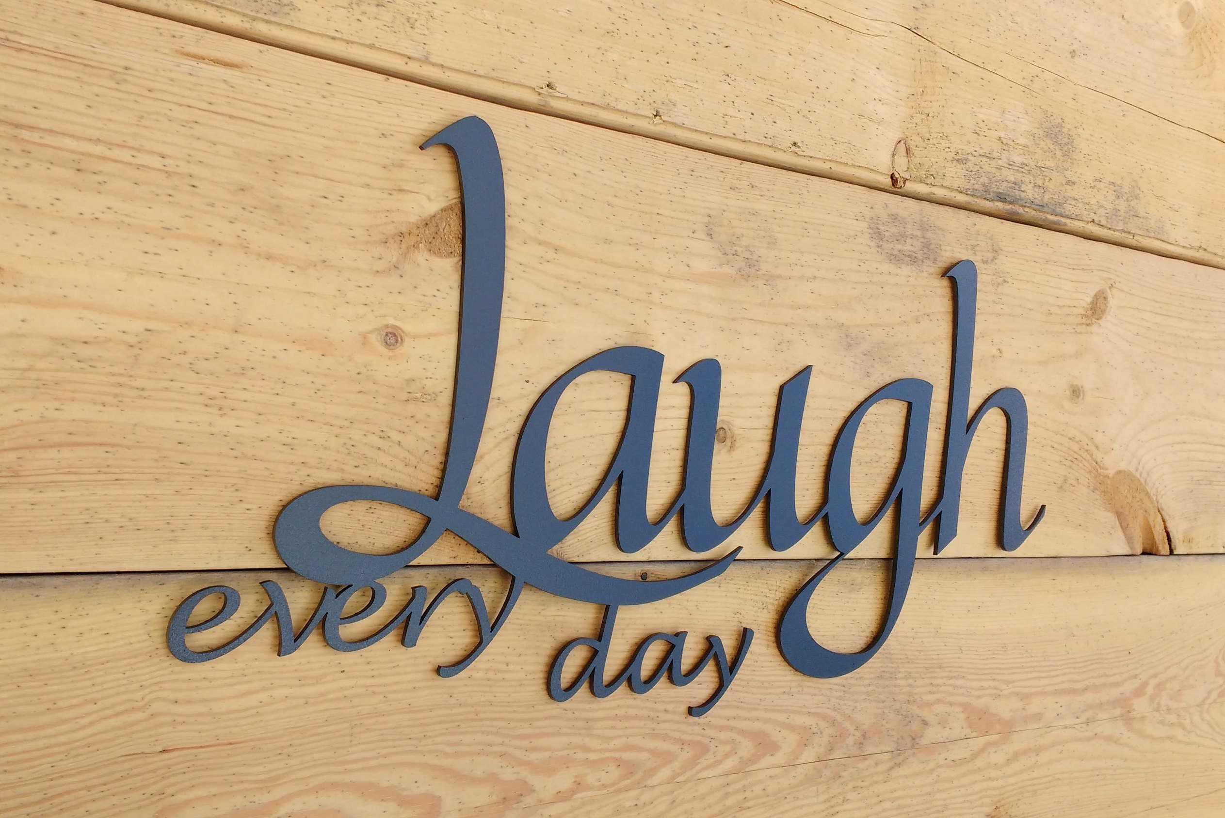 Metal Wall Art Words Live Laugh Love Wall Decor