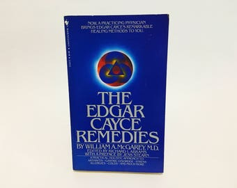 Vintage Occult Book The Edgar Cayce Remedies by William A. McGarey 1983 Paperback