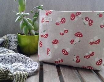Large project bag, knitted bag, knitting bag