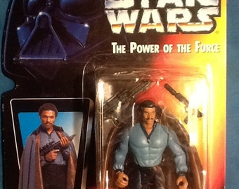 Star Wars Power of the Force Lando Calrissian Action Figure Kenner
