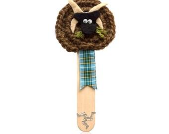 Manx Loaghtan Sheep Bookmark