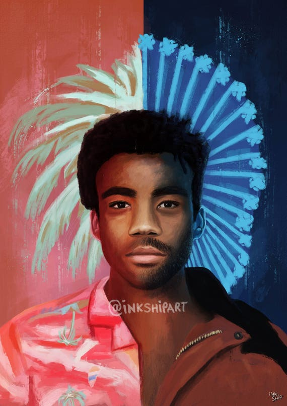 Childish Gambino Because The Internet Artwork