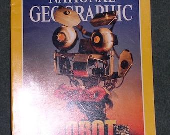 July 1997 - National Geographic Magazine - Robot Revolution - Roman Empire - Volcano - Canyon