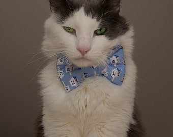 Happy Hanukkah Bow Tie For Cats