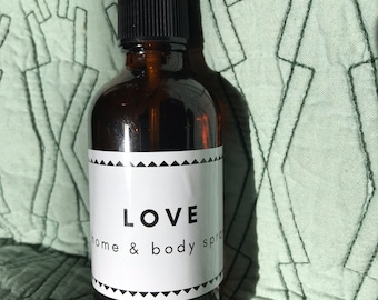 Love Home & Body Spray