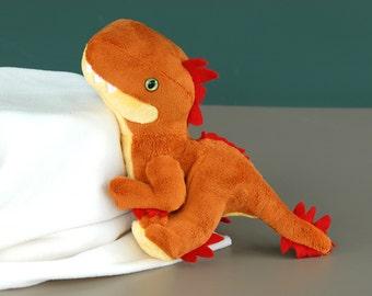 Baby Raptor Custom Handmade Dinosaur Plushie