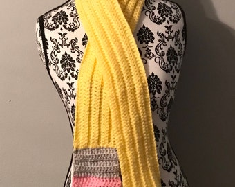 Child sized pencil scarf