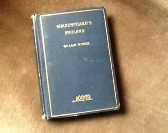 Early edition of Shakespeare's England by William Winter