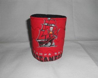 Tampa Bay Buccaneers Soda or Beer Can Cooler