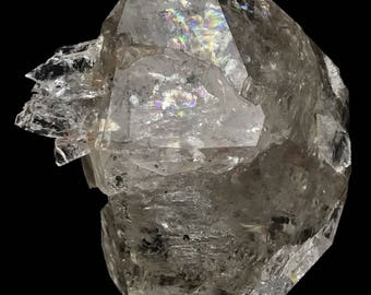 Smoky Herkimer Diamond Quartz Crystal Authentic from New York USA H777