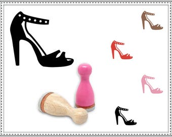 Rubber stamp HIGH HEEL Ø 12 mm