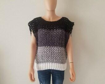 Valerie's Vest Crochet Pattern *PDF FILE ONLY* Instant Download
