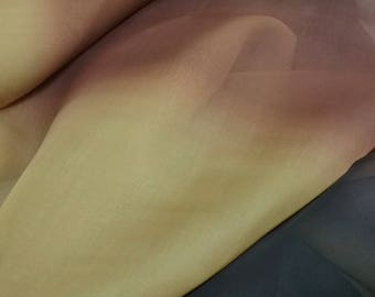 Ombre Silk Organza - 56'' Wide per Yard