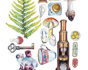 Beatrix Potter Collection Print