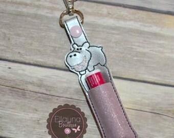 Lip Balm, Chapstick, Flash Drive, USB Drive Holder - Hippo