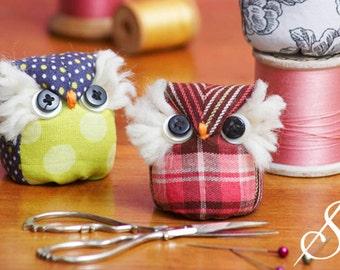 It's A Hoot: An Owl Pincushion Pattern