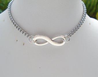 Bracelet stainless steel infinity