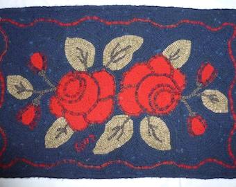 Hand Hooked Wool Rug
