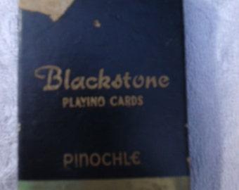 Blackstone Playing Cards-Pinochle Vintage Like New!