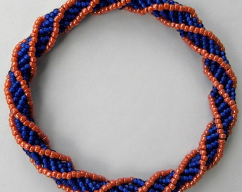 Bangle Bracelet Custom Made in Your School Colors