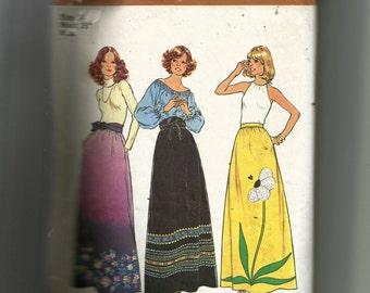Simplicity Misses' Skirt Pattern 7190