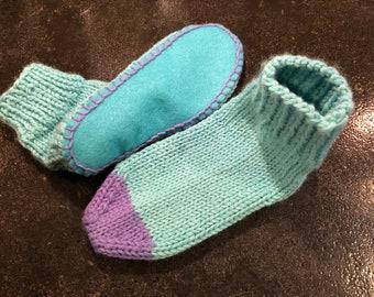 Comfy sock slipper