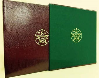 The Cunning Folk Spell Book (Book of Shadows)