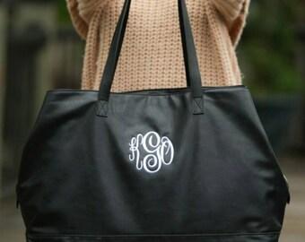 Monogram Bridesmaid Gift - Monogram Travel Bag - Gifts Under 50 - Monogram Luggage - Weekender Travel Bag - Cambridge Travel Bag