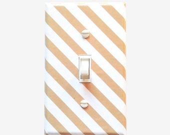 Farmhouse rustic light switch cover home decor