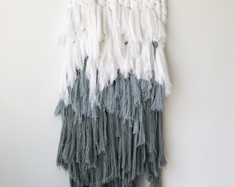 flux - textural wallhanging | fiber art weaving
