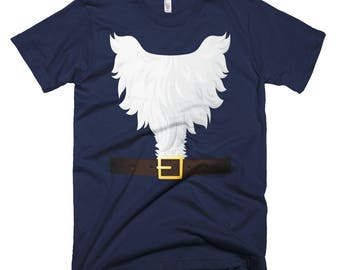 Elf Santa Naughty List Short-Sleeve T-Shirt // Santa's Elves Shirt // Funny Naughty Elf Shirt // Xmas Gift For Friend Shirt