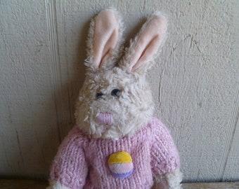 Plush Rabbit Bunny Chrisa Playful Plush 1988