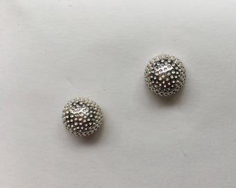 Large Golf Ball Earrings
