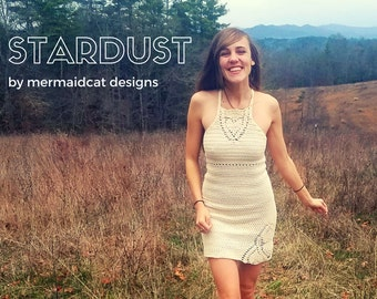 Crochet dress pattern - Stardust