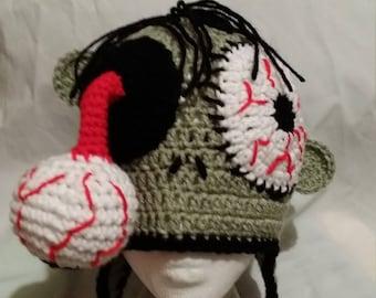 Zombie hat Halloween