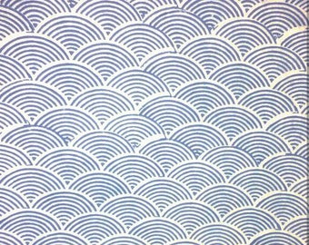 5 Yards Geometric Block Print Fabric Design Pattern, Printed Cotton Fabric, Cotton Printed Fabric, Block Print Fabric