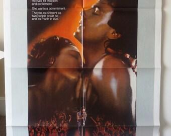 Hard to Hold     Original Vintage Movie Poster One-Sheet  1984      Rick Springfield