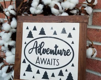 Small Adventure Awaits with Frame