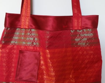 Chic Red Tote