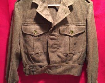 British Army 1950's Battledress Jacket
