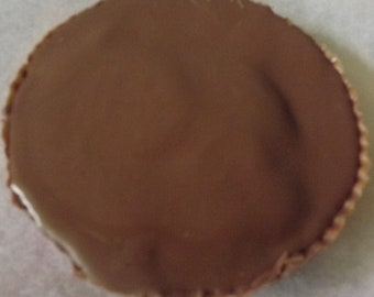 Extra Large Homemade Chocolate Peanut Butter Cup